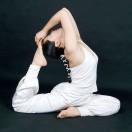 很爱练瑜伽