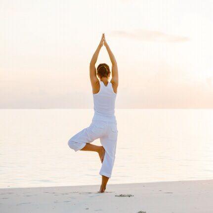瑜伽塑身课