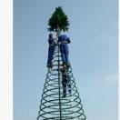 大型框架圣诞树大型软结构圣诞树生产商