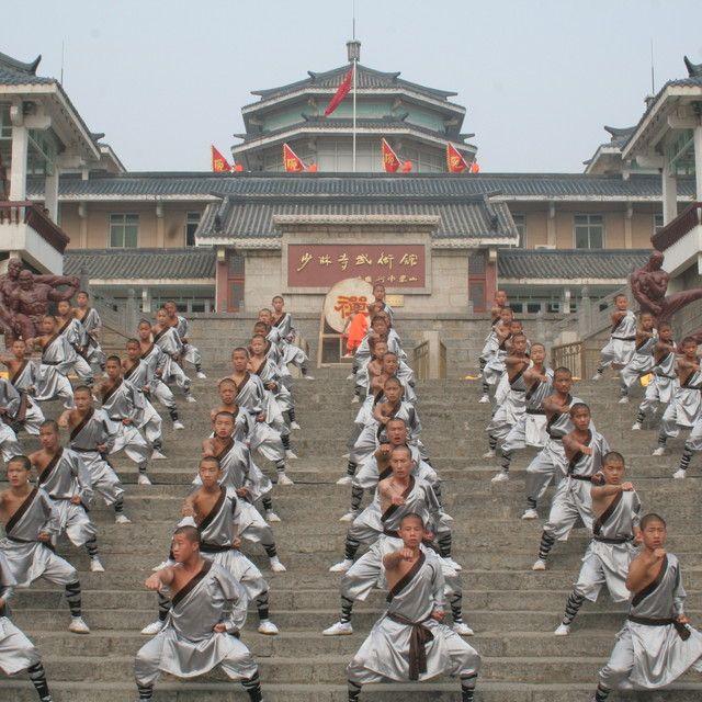 河南省嵩山少林寺武术馆