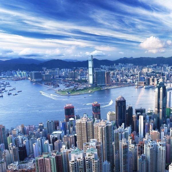 照耀在香港