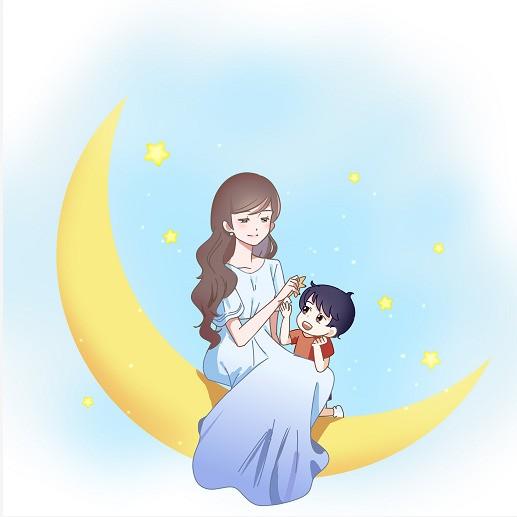 月芽妈妈微信公众号二维码