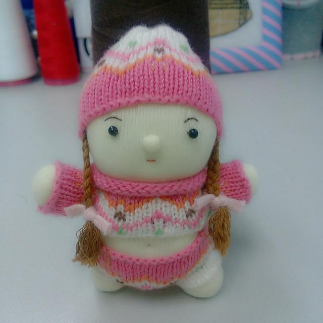 手工布偶娃娃头像图片