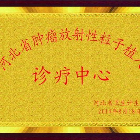 河北省放射性粒子诊疗中心