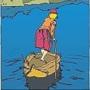 小娃撑小船