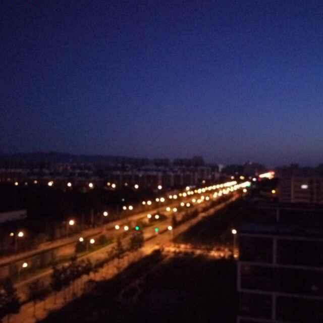 午夜的阳光